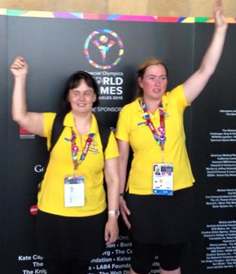 2015 Ann-Charlotte Persson guld ind. i Special Olympics i USA